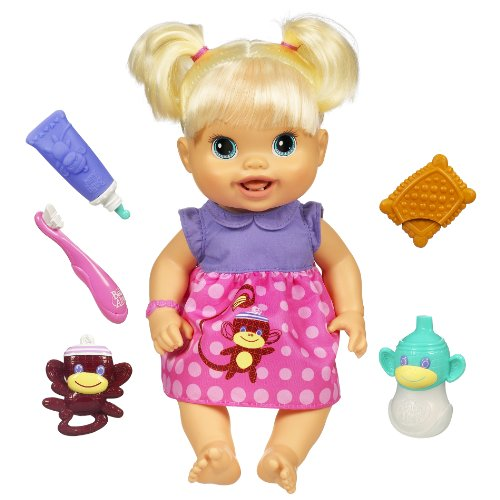 Baby Alive Baby's New Teeth Blonde