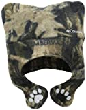 Columbia Boys 8-20 Pigtail Hat, Timberwolf Camouflage, One Size