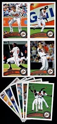 2011 Topps Baltimore Orioles Complete Series 1 & 2 Team Set / 20 Cards Including Markakis, Uehara, Pie, Brandon Snyder RC, Zach Britton RC, Mark Reynolds & more!
