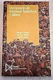 img - for Diccionario de t rminos hist ricos y afines book / textbook / text book