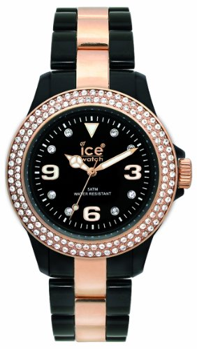 Ice-Watch Stone Black Small Plastic Watch ST.BK.S.P