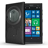 TUDIA Ultra Slim Melody Series TPU Protective Case for Nokia Lumia 1020 / Nokia EOS (Black)