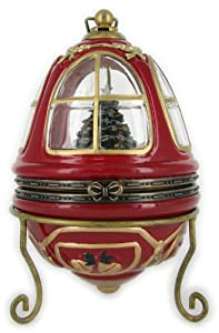 #!Cheap Mr. Christmas's Animated Heirloom Music Box Tree Ornament