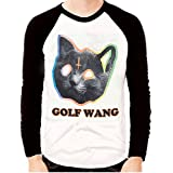 Men's OFWGKTA GOLF WANG ODD FUTURE TYLER THE CREATOR CAT Long Sleeve T-shirts