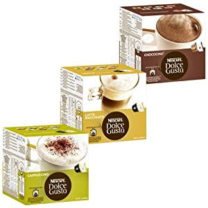 Purchase Nescafé Dolce Gusto Cream Collection, 3 Varieties, 48 Capsules 24 Servings by Nestl