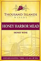 NV Thousand Islands Winery® Honey Harbor Mead® Wine 750 ml