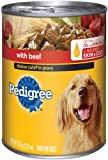 Pedigree Option Cuts in Gravy with Beef Foods for Dogs, 13.two-Ounce Cans (Pack of 24)