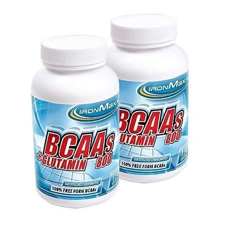 Ironmaxx BCAA's + Glutamin ( 2 x 130 Kapseln = 260 Kapseln )