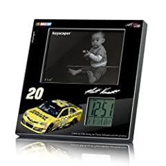 NASCAR Matt Kenseth 20 Dollar General Picture Frame and Desk Clock by Keyscaper