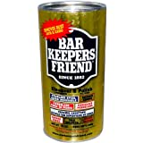 Bar Keepers Friend Multi Purpose Stainless Steel Chrome Porcelain Copper Cleanser & Polish