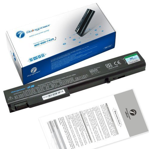 GoingPower Battery for HP EliteBook 8530p 8530w 8540p 8730p 8730w 8740w Mobile Workstation - 18 Months Warranty [li-ion 8-cell 4400mah]