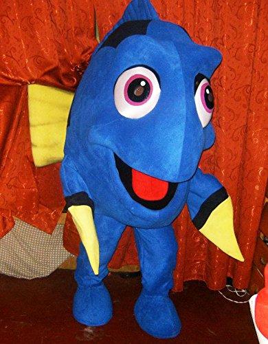 Dory Finding Nemo Mascot Costume Adult Cartoon Character Costume