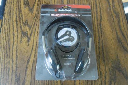 Radioshack Headphone Combo Pack