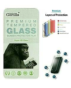 Black Gorilla Premium Tempered Glass For Lava Iris Fuel 60