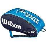 Tour 15 Pack Tennis Bag Blue by Wilson