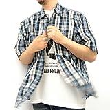 (エアウォーク)AIRWALK 大きいサイズ チェックシャツ 半袖Tシャツ付き