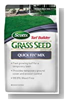 Scotts 18172 Turf Builder Quick Fix Mix Bag, 3-Pound
