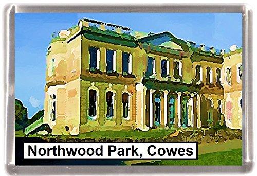Kühlschrankmagnet Cowes Northwood park Geschenk Tourist Souvenir