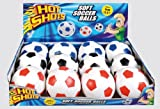 Hot Shots Soft Soccer Ball (Colour may Vary) 1 supplied