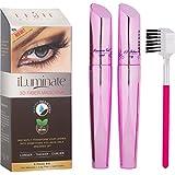 Pretty Lash Waterproof 3D Fiber Mascara by iLuminate - Fuller, Longer Eyelashes That Pop and Look Natural