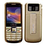 Gfive Mobile Phone With Four Sim (Golden Color)