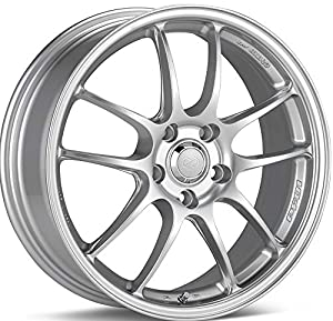 17x8.5 Enkei PF01 (Silver) Wheels/Rims 5x114.3 (460-785-6540SP)