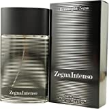Zegna Intenso By Ermenegildo Zegna For Men, Eau De Toilette Spray, 3.3-Ounce Bottle
