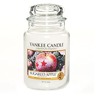 Yankee candle bougie parfum 623 g sugared grand verre for Meuble yankee candle