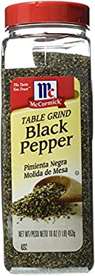 McCormick Pure Ground Black Pepper, 16 oz. from McCormick & Co