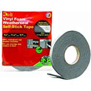 Do it Best Heavy Density PVC Closed Cell Vinyl Foam Weatherstrip Tape-3/4X3/16X1
