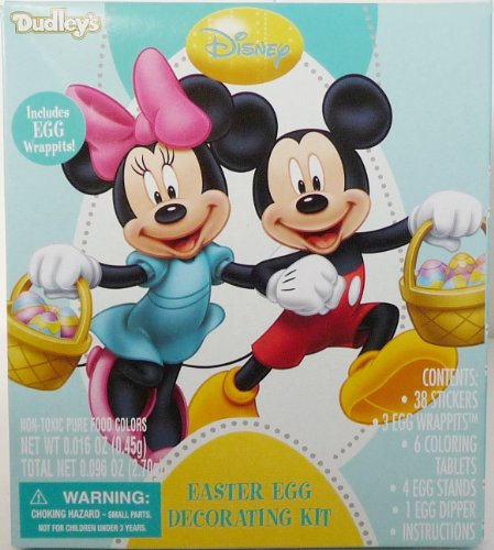 Dudleys Disney Minnie & Mickey Mouse Easter Egg Decorating Kit