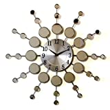 BUBBLE MIRRORED WALL CLOCK PHCM639