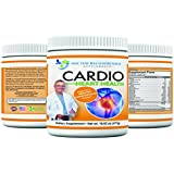 Cardio Heart Health - 5000mg L-Arginine - 1000mg L-Citrulline - 1 lb tub - Doctor Recommended Formula - Powder Supplement - Complete with Vitamins, Minerals, Plus Antioxidants Vitamin C and E for Total Cardiovascular System Health - Best Reviews -Created and Formulated by REAL DOCTORS,16.82 0z (477g)