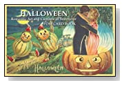 Halloween: Romantic Art Postcard Book