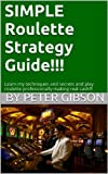 img - for Simple Roulette Strategy Guide book / textbook / text book