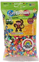 New Perler Fun Fushion Beads 1000/Pkg Multi Mix By Wmu