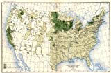 USA: Production of barley / sq mile at 12th census , 1900 map