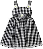 So La Vita Toddler Girls Toddler Waist Bow Dress