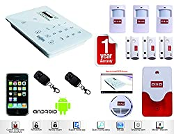 Security System Burglar Alarm Wireless GSM
