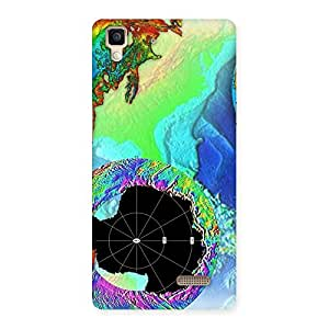 World of Colors Back Case Cover for Oppo R7