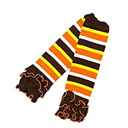 Kirei Sui Baby Thanksgiving Leg Warmers