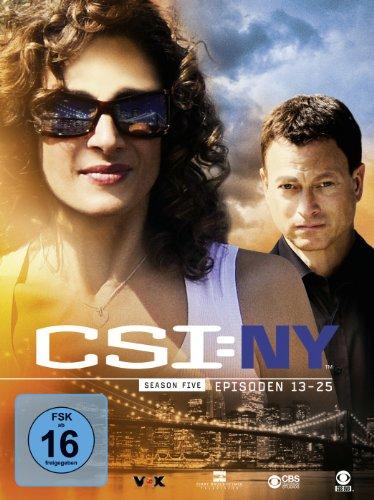 CSI: NY - Season 5.2 [3 DVDs]