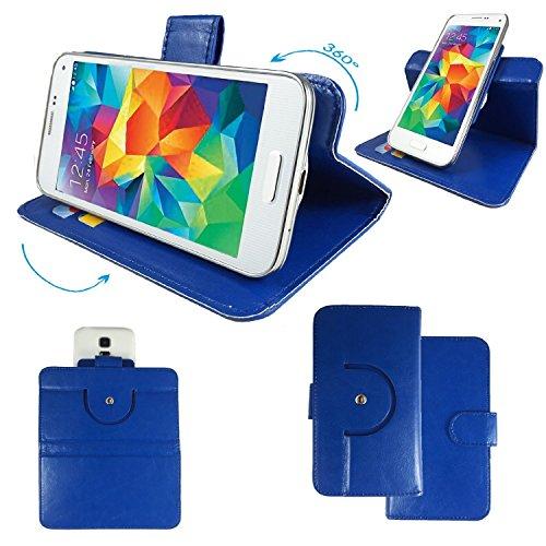 NO.1 N3 MTK6589T 5,7 Zoll IPS Smartphone Tasche / Schutzhülle mit 360° Dreh und Standfunktion - 360 Türkis Nano XL