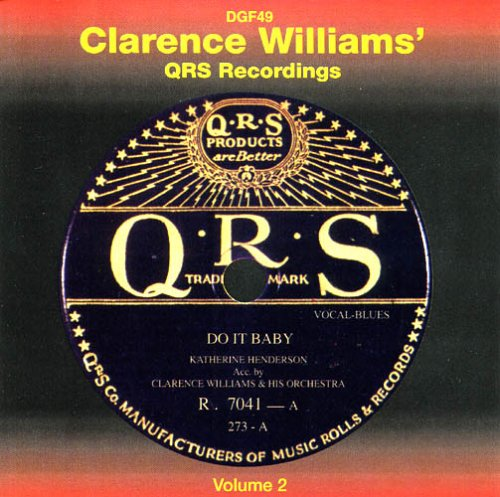 QRS Recordings, Vol. 2 by Clarence Williams