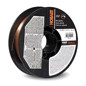 Hobart H305401-R22 10-Pound ER70S-6 Carbon-Steel Solid Welding Wire, 0.024-Inch