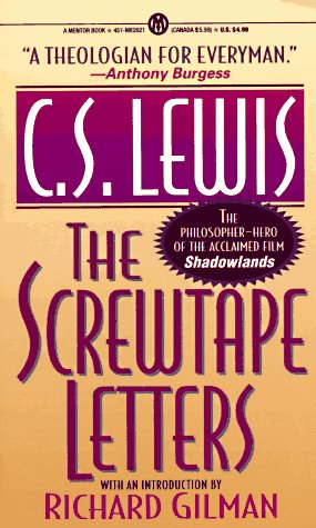 The Screwtape Letters (Mentor Series)