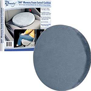 Remedy 80-YT204 Mobile 360° Memory Foam Swivel Cushion