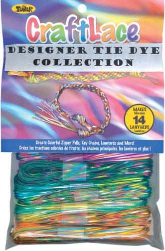 300' Craft Lace - 12PK/Tie Dye