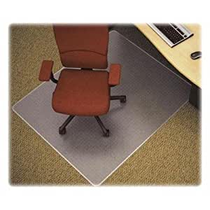 lorell rectangular chair mat carpet chair mats office products