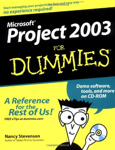 Microsoft Project 2003 For Dummies front-978530